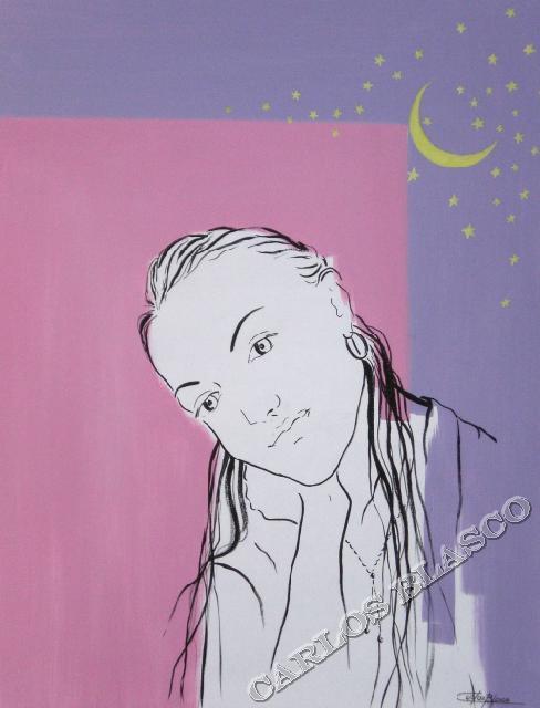 LUCÍA-Óleo sobre lienzo-65x50