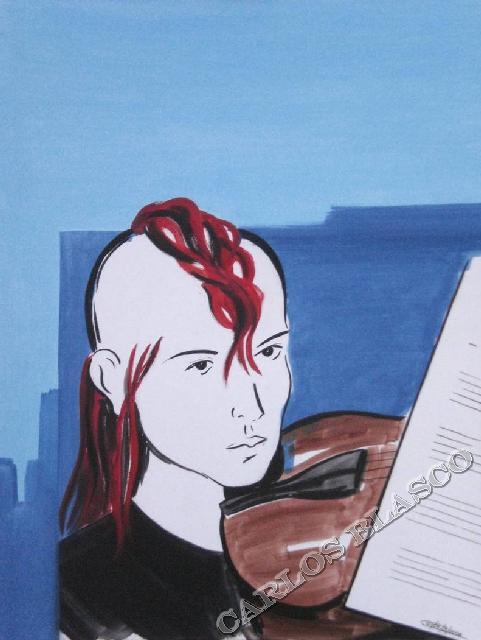 PATRICIA-Óleo sobre lienzo-65X50